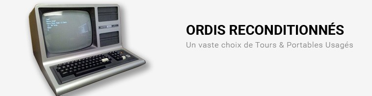 Ordinateurs Reconditionnes