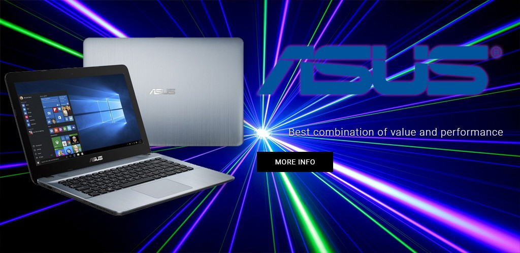 ASUS offers the best combination of value and performance